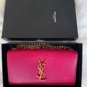 💯Authentic YSL Yves Saint Laurent Wallet on chain